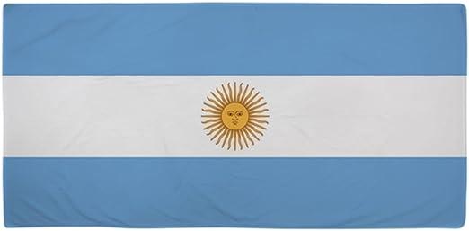 CafePress diseño de bandera de Argentina – Toalla de playa de gran tamaño, suave toalla de 30
