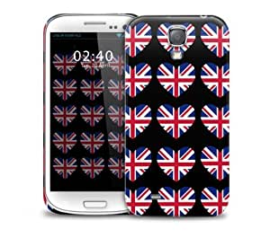 Love Britain Pattern Samsung Galaxy S4 GS4 protective phone case