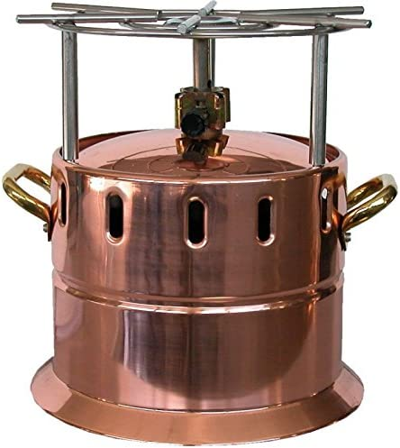 Hornillo flambè a gas de cobre con rejilla inoxidable: Amazon ...