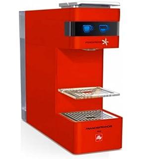 Illy - Máquina de café de cápsulas, modelo Y3 Iperespresso, de color rojo,