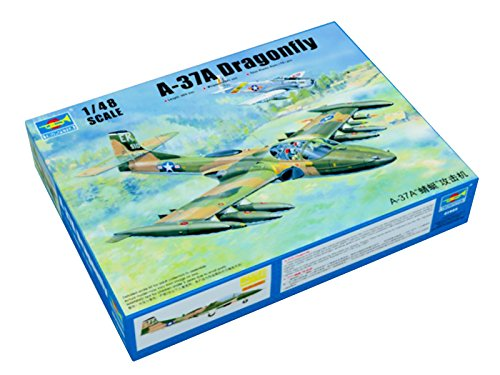 Trumpeter 1/48 02888 US A-37A Dragonfly Light Ground-Attack Aircraft