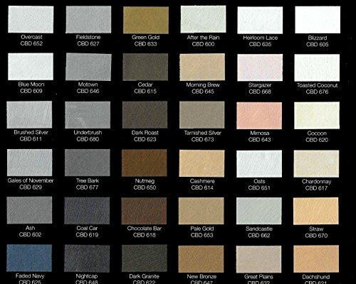 MOIRE WILD SILK ACRYLIC BASED DECORATIVE METALLIC PLASTER PAINT PRECOLORED ROLLER OR BRUSH APPLIED DECORATIVE FINISH THAT LOOKS FEELS LIKE SHIMMERING FINE SILK By Colors By Drew (GALLON) (CBDGAL) by MOIRE WILD SILK (Image #4)