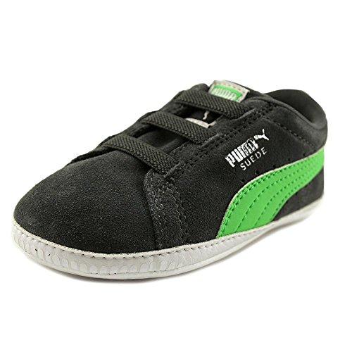 Puma Kids Baby Boy's Suede Crib (Infant/Toddler) Asphalt/Andean Toucan Shoe