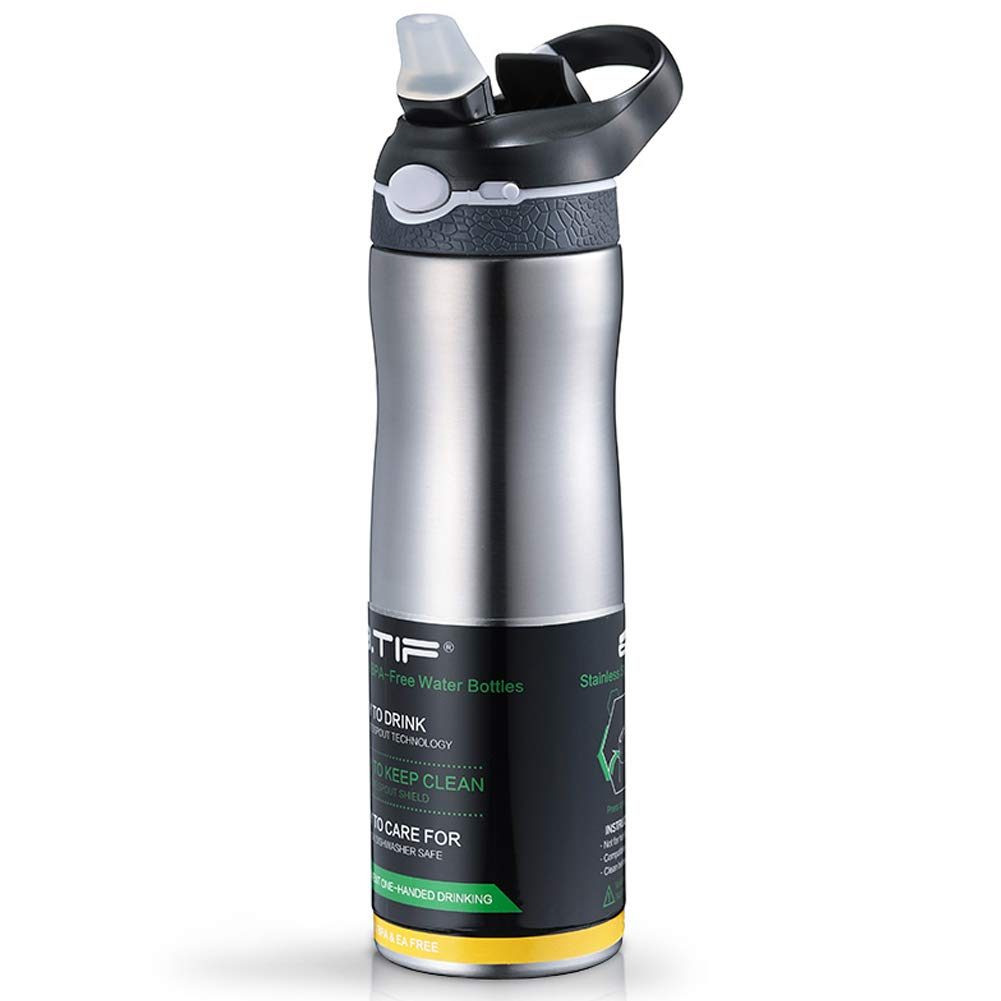 Outdoor sports cup large capacity fitness cup-Grey