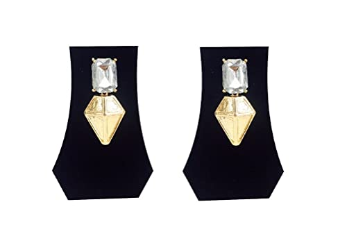 448ad1a31 Fashblush Forever New Aztec Gem Triangle Egyptian Alloy Drop Earring:  Amazon.in: Jewellery