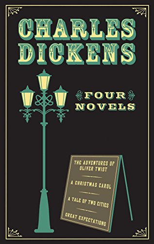 Charles Dickens: Four Novels (Leather-bound Classics) (Iv Leather)