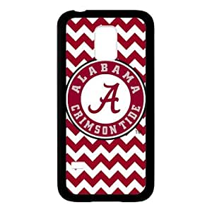 Generic Custom Extraordinary Best Design NCAA Alabama Crimson Tide Team Logo Plastic and TPU Case Cover for SamsungGalaxyS5 mini(Laser Technology)