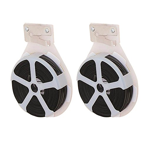 Verdental Versatile Metal Home Cable Ties - Food Bag Sealing Cable - Recyclables Sturdy Plastic Garden Plant Twist Tie Strap Cutter (2-pieces, Black)