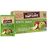 Back to Nature Non-GMO 100% Juice, Apple, 6 Ounce, 8 Count (Pack of 5)