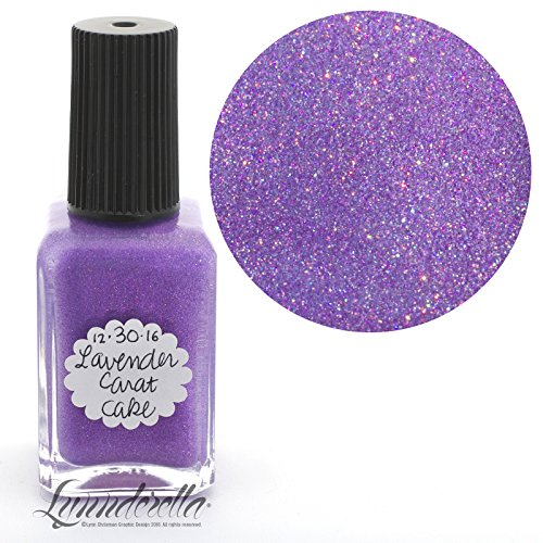 Lynnderella Limited Edition Christmas Advent Nail Polish Lavender Shimmerella-December 30-Lavender Carat Cake