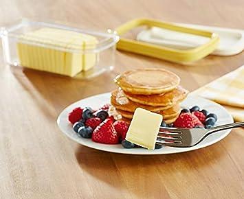 Kühlschrank Aufbewahrung : Butter genie dish box halter küche kühlschrank aufbewahrung deckel