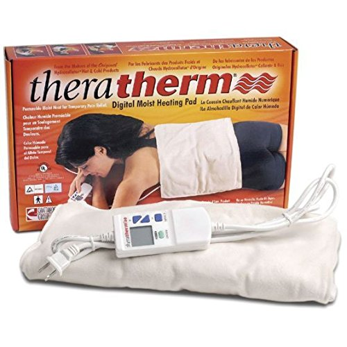 Chattanooga TheraTherm Digital Electric Moist Heating Pads, Large, 14'' x 27'' by TheraTherm