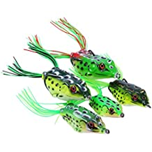 Goture Topwater Lures Frog Soft Bait Kit Swimbait For Bass Saltwater Freshwater Fishing Combo Sets
