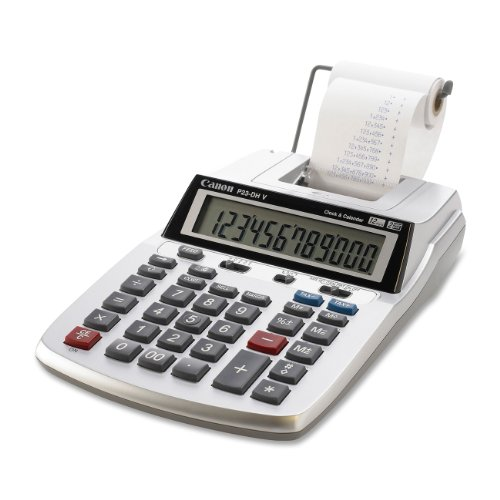 small adding machine with tape - 3