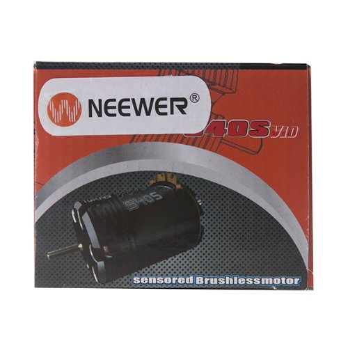 Neewer 540 Class Sensored Brushless Motor 7.5T 4700KV for 1/10th Road RC Vehicle Car