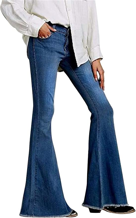WAWAYA Womens Fashion Floral Embroidery High Waist Cut Off Denim Shorts Jeans
