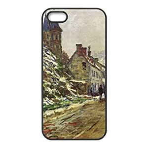 Simple country life Phone Case for iPhone 5S(TPU)