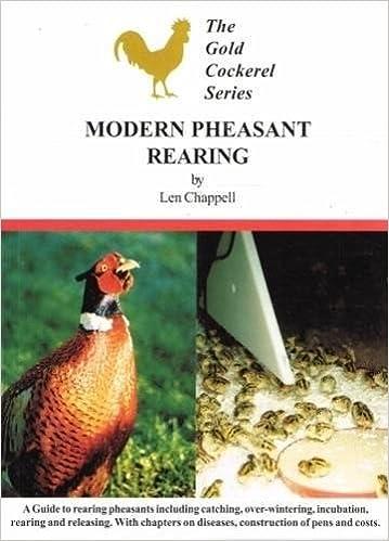 Len Modern modern pheasant farming gold cockeral series len chappel