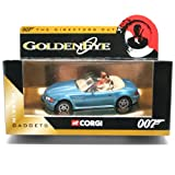 BMW Z3 * GOLDENEYE * 2003 Corgi Classics The Directors Cut Series James Bond Collection 1:36 Scale Die-Cast Vehicle