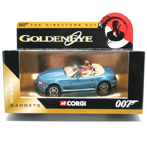 BMW Z3 ロードスター(メタリックブルー) 「007 ゴールデンアイ」 007 THE DIRECTORS CUT CC04904