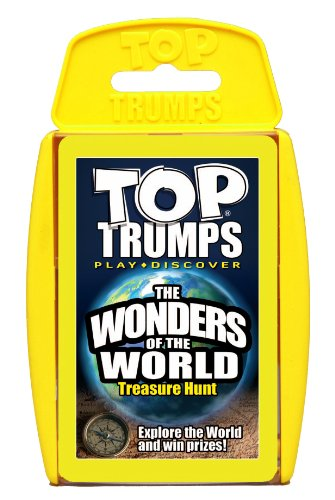 TOPTRUMPS WONDERS OF THE WORLD*, WMOVES, 000926        Amazon imported products in Pakistan