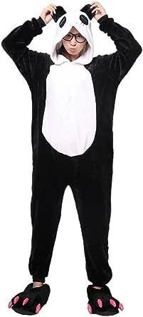 LATH.PIN Animal Carnaval Disfraz Cosplay Pijamas Adultos Unisex Ropa De Noche S/M/L/XLadulto Animal Cosplay de Halloween Traje Dise?o de Animal