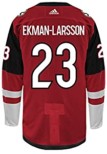 Oliver Ekman-Larsson Arizona Coyotes Adidas Authentic Home NHL Hockey Jersey