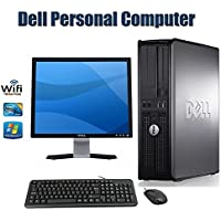 Dell Optiplex Core 2 Duo 1.8GHz, Windows 7 Home Premium, New 4GB Memory, 160GB Hard Drive, DVD/CD-RW Drive, 17 LCD Monitor(Brands may vary) Bundle PC-(Certified Reconditioned).