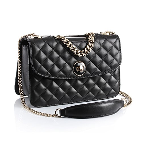 Quilted Plaid Handbag - 4