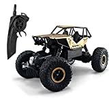 Tuptoel RC Cars Jeep Trucks Off-road Vehicle Monster Trucks 4WD Drive Car 1/14 Scale 2.4GHz RC Hobby Cars High Speed Racing Cars- Golden
