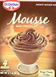 DR OETKER Mousse Chocolate Milk, 3.1 Ounces