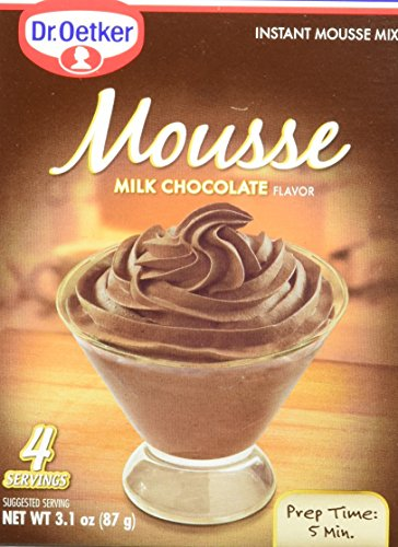 DR OETKER Mousse Chocolate Milk 31 Ounces