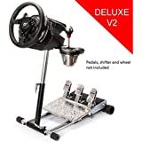 T500RS Deluxe Racing Steering Wheelstand for Thrustmaster Wheel, Original Wheel Stand Pro Stand V2. Wheel and Pedals Not included.