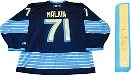 Image Unavailable. Image not available for. Color  Evgeni Malkin  Autographed Pittsburgh Penguins Winter Classic Jersey ... e3c4775fd