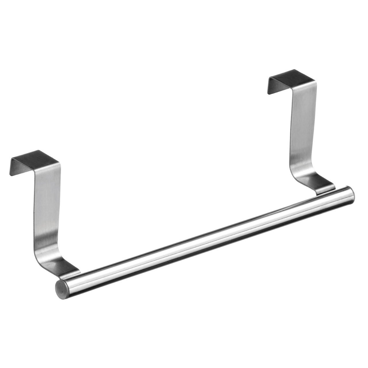 Towel Hanger Part - 19: Over Kitchen Cabinet Door Tea Hand Towel Rail Holder Hanger Storage:  Amazon.co.uk: Kitchen U0026 Home