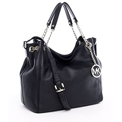 9164c68414e2 Amazon.com: MICHAEL Michael Kors Jet Set Medium Gather Shoulder Tote  Handbags - Black: Shoes