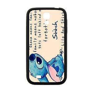 Lilo & Stitch Cartoon Cute Black samsung Galaxy S4 case