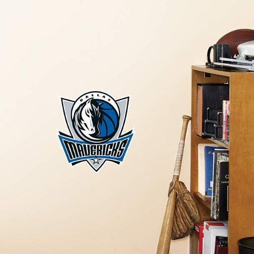 1 X Dallas Mavericks FATHEAD Team Logo NBA Official Vinyl Wall (Dallas Mavericks Decal)