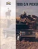 1999 Chevrolet C1500 C2500 C3500 K1500 K2500 K3500 Pickup Truck Brochure