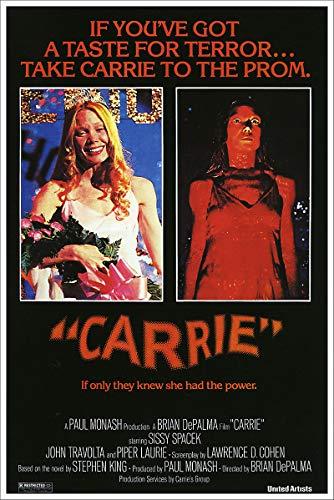 (American Gift Services - Carrie Sissy Spacek Vintage Horror Movie Poster - 11x17 )