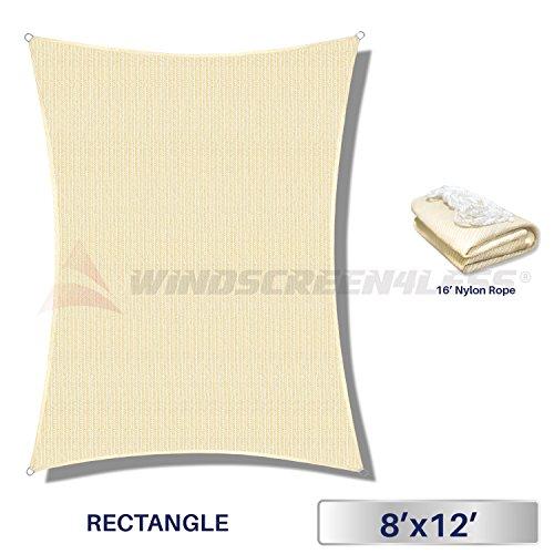 Windscreen4less Rectangle Sun Shade Sail