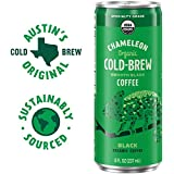 Chameleon Organic Cold-Brew Smooth Black Coffee, 8 Fl Oz