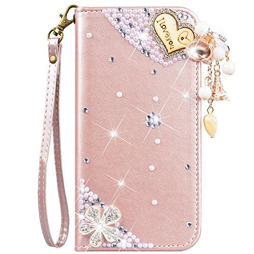 Rhinestone Pink Cell Phone Purse