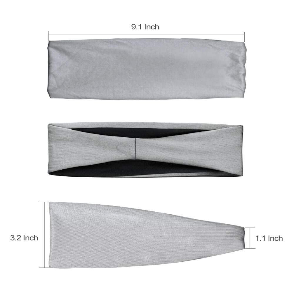 "Japanese 35/""L x 13/""W MAMESHIBORI TENUGUI Hand Towel Headband Dots Made in Japan"