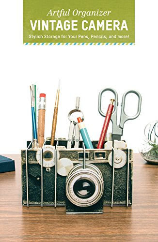 - Artful Organizer: Vintage Camera: Stylish Storage for Your Pens, Pencils, and More!