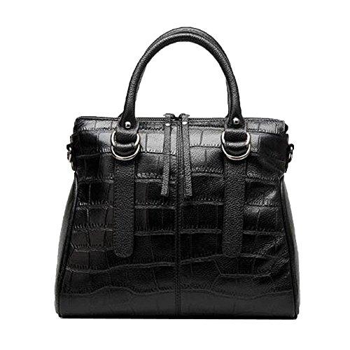 tout Main Créateur Femme Sacs Ladies De Black Sacs Sacs à Crocodile Fourre Main Texture à qHHRpO
