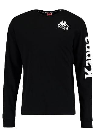 Kappa Ruiz Auth Camiseta, Hombre, Negro, XS