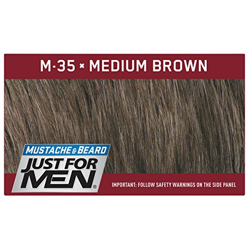 Just For Men Mustache & Beard Brush-In Color Gel, Medium Brown (Pack of 3) by Just for Men (Image #5)
