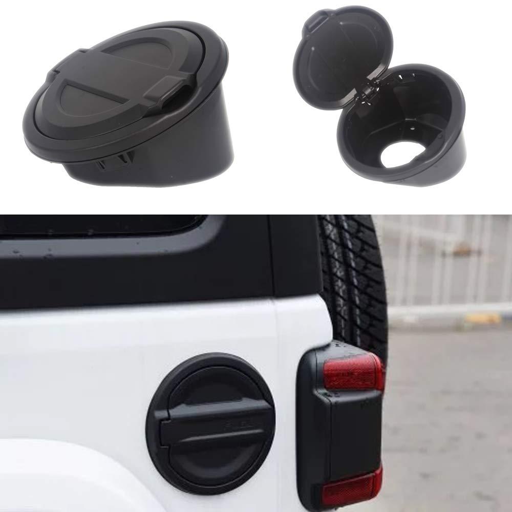 Fuel Filler Door Cover Gas Tank Cap for 2018 JL Wrangler 2 ...