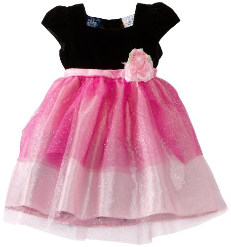 So La Vita Baby Girls' Sparkle Layered Tulle Dress